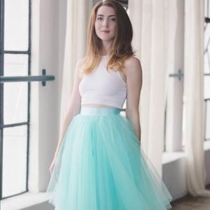 Space 46 Tulle Skirt- The Wendy